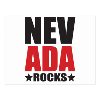 Nevada Rocks! State Spirit Gifts and Apparel Postcard