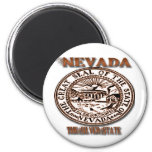 """Nevada""""s Great Seal Design Magnets"""