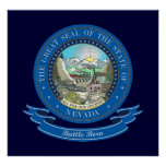 Nevada Seal Posters