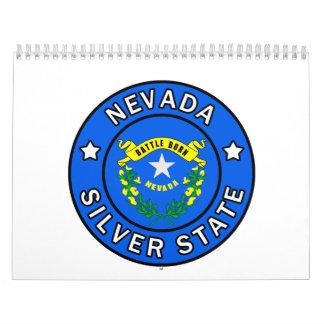Nevada Silver State Calendar