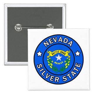 Nevada Silver State Pinback Button