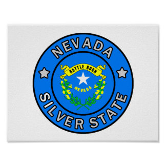 Nevada Silver State Poster