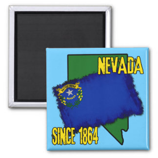 Nevada, Since 1864 Magnet