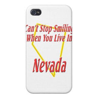 Nevada - sonriendo iPhone 4 carcasa