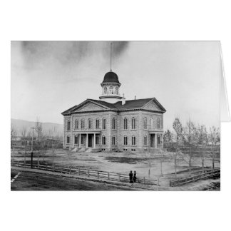 Nevada State Capitol Card