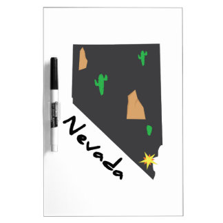 Nevada State Dry-Erase Boards