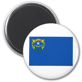 Nevada State Flag 2 Inch Round Magnet