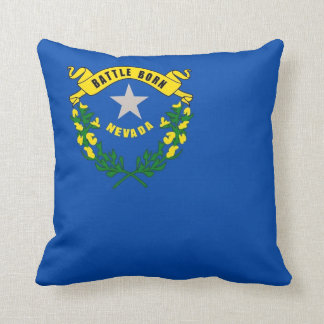 Nevada State Flag American MoJo Pillow