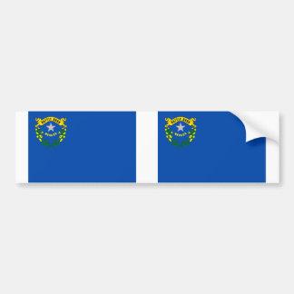 Nevada state flag car bumper sticker