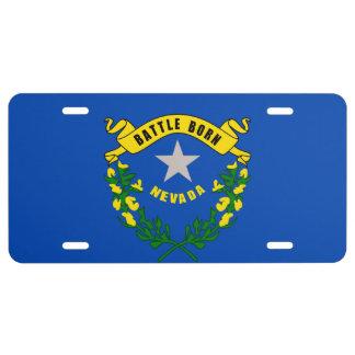 Nevada State Flag Design License Plate