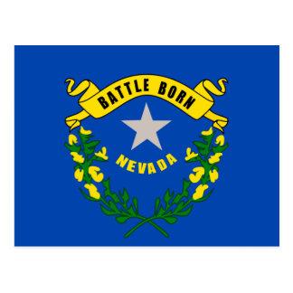Nevada State Flag Design Postcard