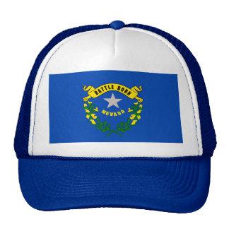 Nevada State Flag Design Trucker Hat