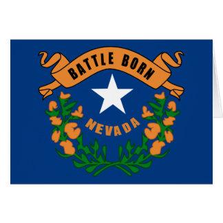 Nevada State Flag Greeting Card