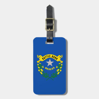 Nevada State Flag Luggage Tag