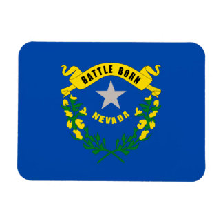 Nevada State Flag Magnet