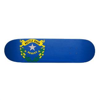 Nevada State Flag Skateboard Deck