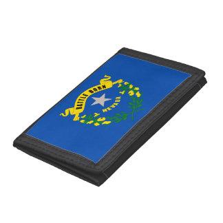 Nevada State Flag Tri-fold Wallet