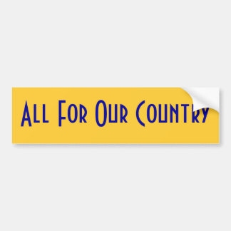 Nevada State Motto Bumper Sticker
