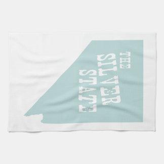 Nevada State Motto Slogan Kitchen Towel