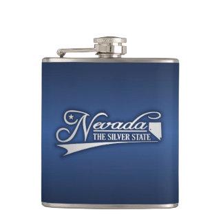 Nevada State of Mine Hip Flask