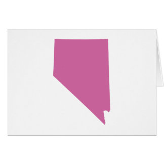 Nevada State Outline Card