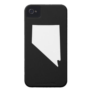 Nevada State Outline Case-Mate iPhone 4 Cases
