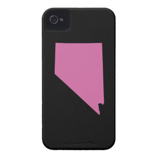 Nevada State Outline iPhone 4 Case-Mate Cases