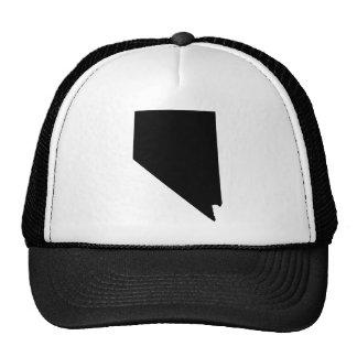 Nevada State Outline Trucker Hat