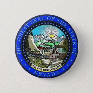 Nevada State Seal Button