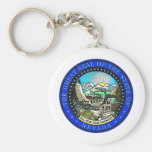 Nevada State Seal Key Chain