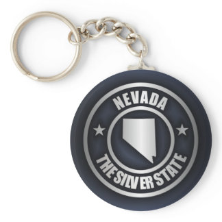 """Nevada Steel 2"" Keychains"