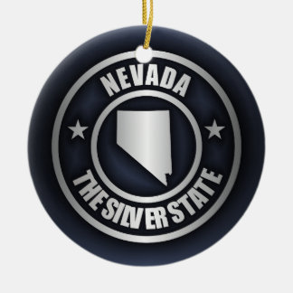 """Nevada Steel 2"" Ornaments"