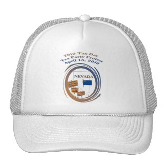 Nevada Tax Day Tea Party Protest Hats