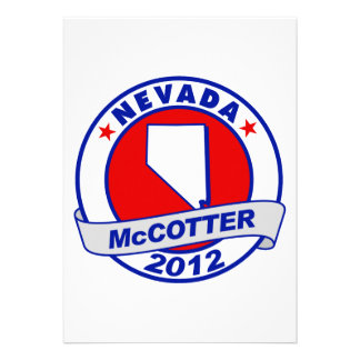 Nevada Thad McCotter Announcements