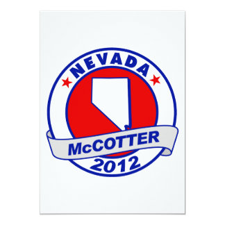 Nevada Thad McCotter Card