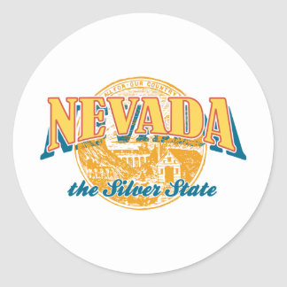 Nevada - The Silver State Stickers
