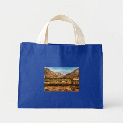 Nevada - tren del desierto bolsa