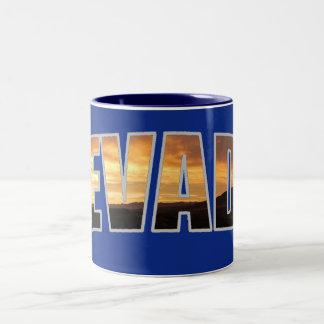 Nevada Two-Tone Coffee Mug