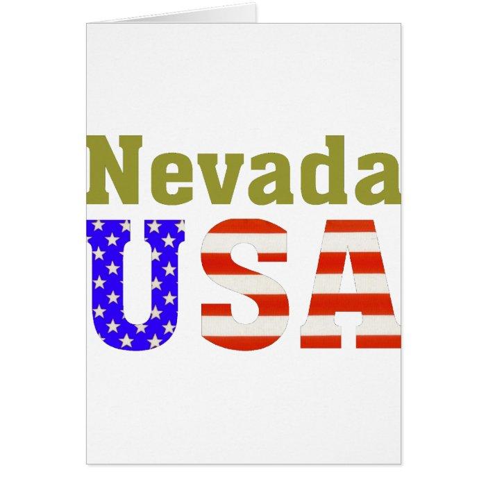 Nevada USA! Card