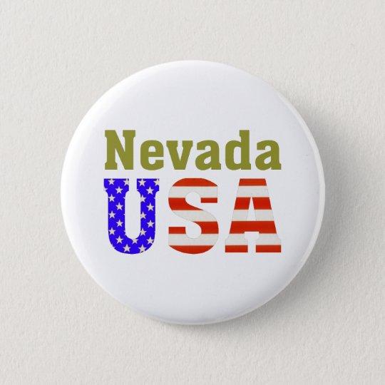 Nevada USA! Pinback Button