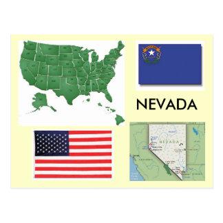 Nevada, USA Postcard