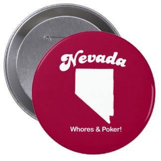 Nevada - Whores and Poker T-shirt Buttons