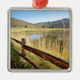 Nevada Wilderness Metal Ornament