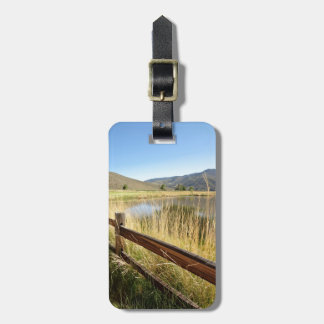 Nevada Wilderness Personalized Luggage Tag