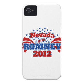 Nevada with Romney 2012 Case-Mate iPhone 4 Case