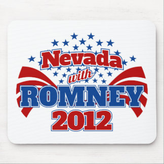 Nevada with Romney 2012 Mouse Pad