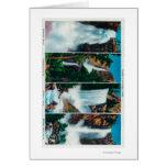 Nevada, Yosemite, Vernal, and Bridal Veil Falls Card