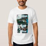 Nevada, Yosemite, Vernal, and Bridal Veil Falls T Shirt
