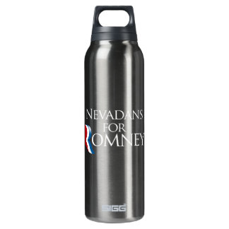 Nevadans for Romney -.png 16 Oz Insulated SIGG Thermos Water Bottle