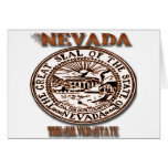 Nevada's Great Seal State Designs Greeting Card